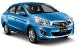 Бюджетный седан Mitsubishi продемонстрировали в Таиланде